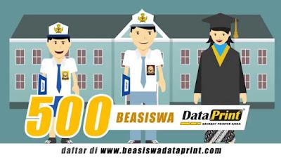 BEASISWA DATAPRINT 2016/2017