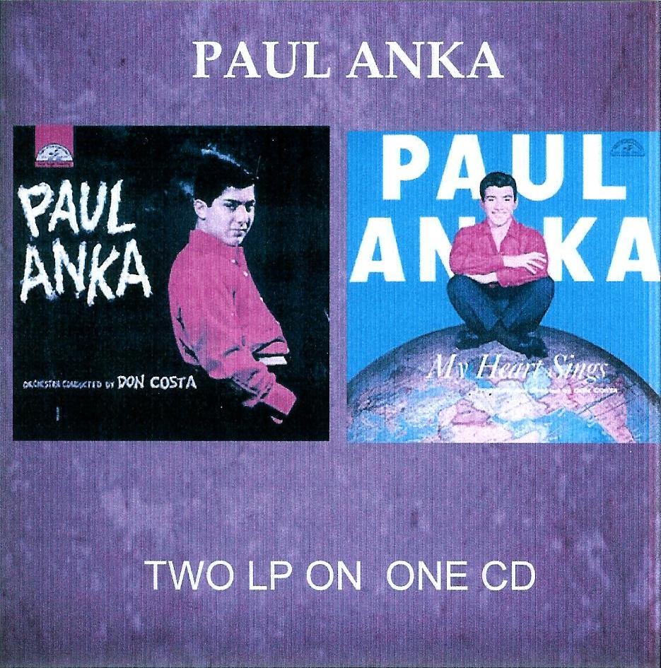 Cd Paul Anka - 2 Lp's on 1 Cd Paul%2BAnka%2B2%2Blp%2Bon%2B1%2Bcd%2BFront