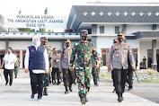 PSBB Telah Berakhir, Kapolri dan Panglima TNI Sampaikan ini saat Pimpin Rapat di Jawa Timur