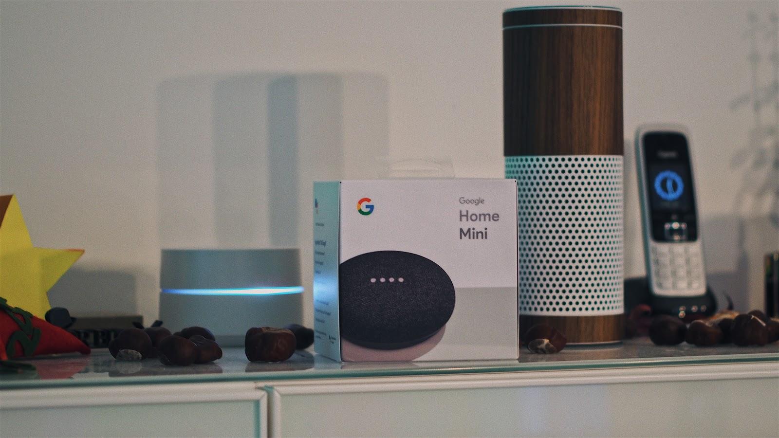 Ein Google Home Mini zusätzlich zum Echo nutzen? Warum macht man das?