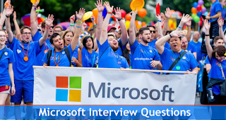 Microsoft Company Interview Questions