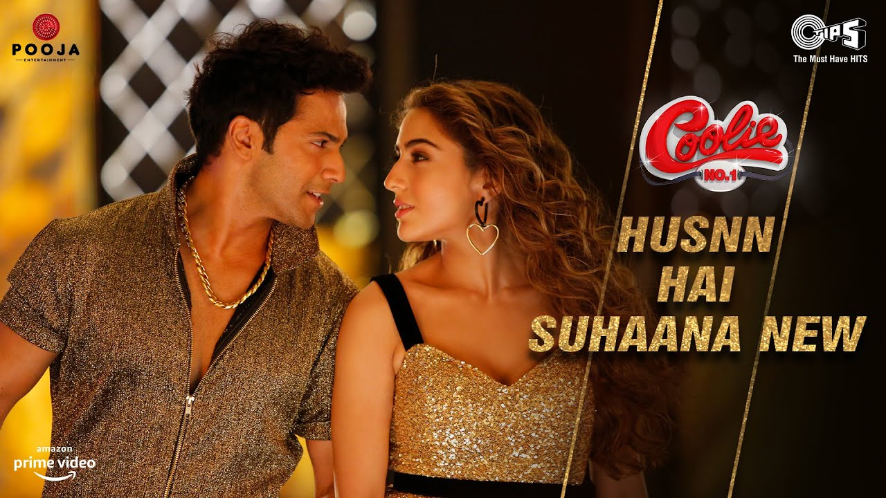 Husn Hai Suhana Lyrics Coolie No 1 | Varun X Sara | Hindi Song Lyrics In English