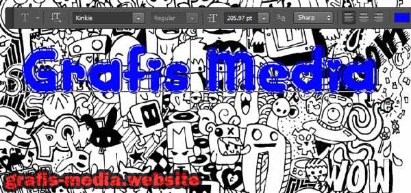 ada tutorial photoshop terbaru dan menarik Tutorial Cara Membuat Doodle Art Name Dengan Photoshop