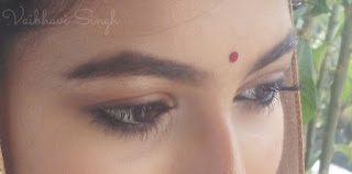 anushka sharma wedding makeup eye look