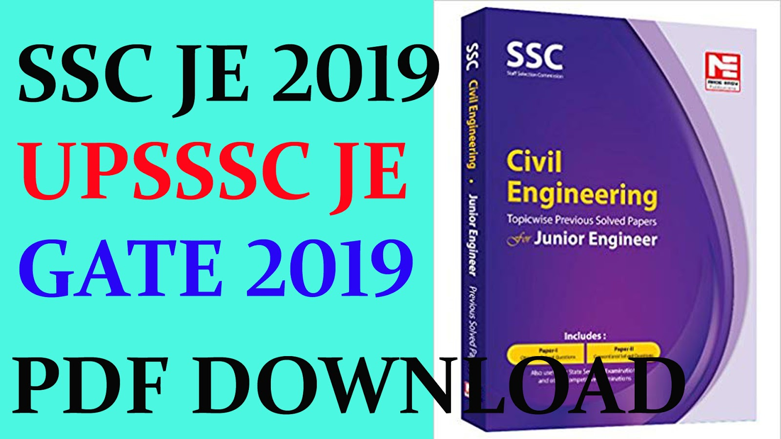 SSC JE 2019 | Made Easy Coaching | Hand Written Notes | All