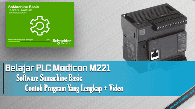 Belajar PLC Schneider Electric Modicon M221