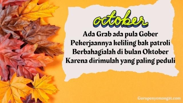 Pantun Motivasi Bulan Oktober