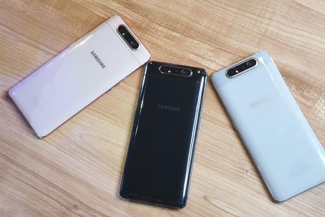 Samsung Galaxy A80 Menjadi Perangkat Pertama Dengan Snapdragon 730G