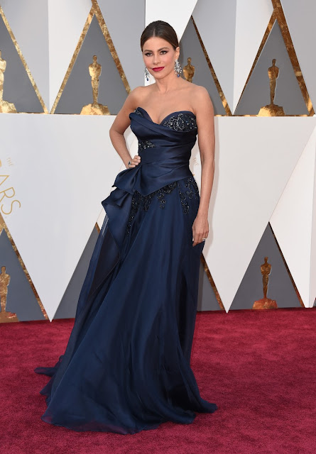 Sofía Vergara en la gala de los Oscars 2016 - Foto: Gtres Online
