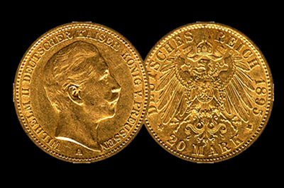 Moneda de Oro Alemana