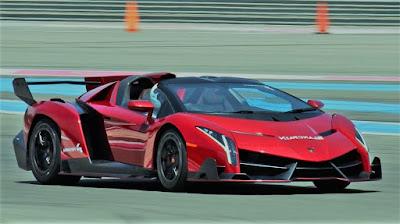 Lamborghini Veneno mobil termahal