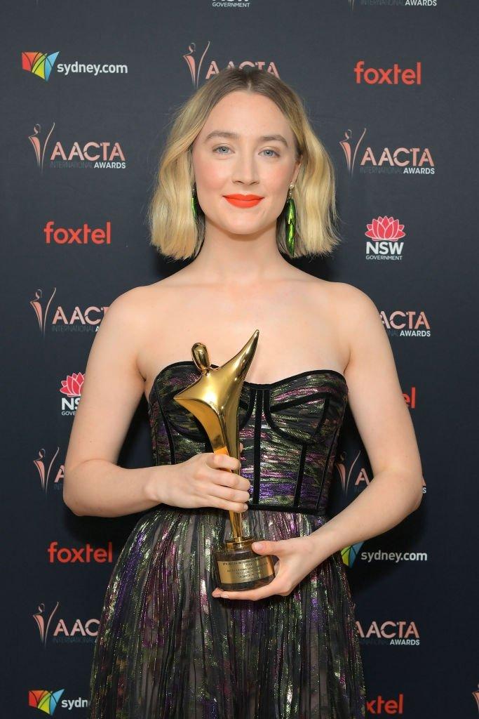 Saoirse Ronan wins Best Actress award at AACTA