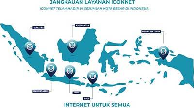 Cara daftar iconnect 2021 (iconnet) Layanan internet