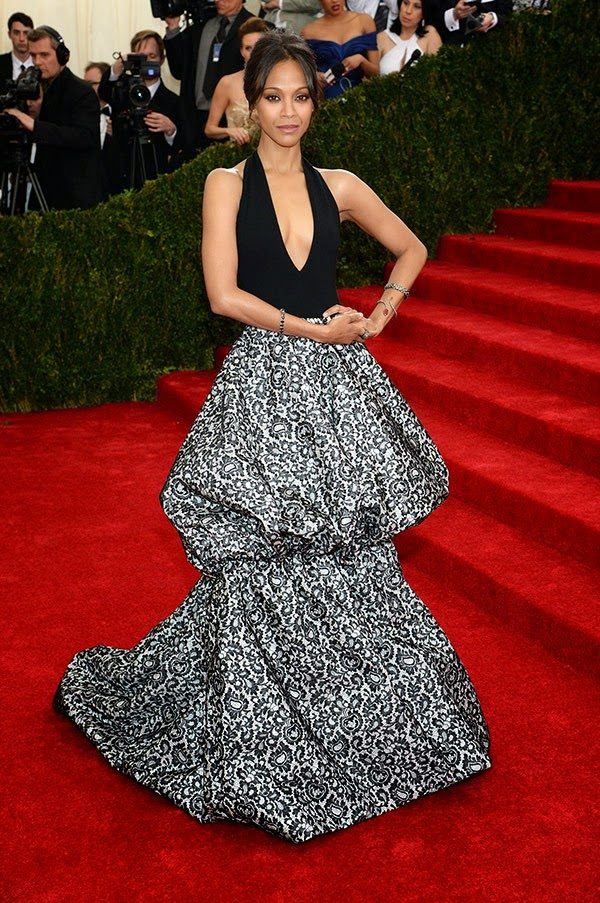MET Gala 2014, Met Gala, Charles James, New Fashion, Latest Trends, Latest Fashion, Beyond Fashion, Fashion, Designers, Designer Clothes, Zoe Saldana, Michael Kors, Fashion Blogger of Pakistan, Fashion online, Dress, Clothing