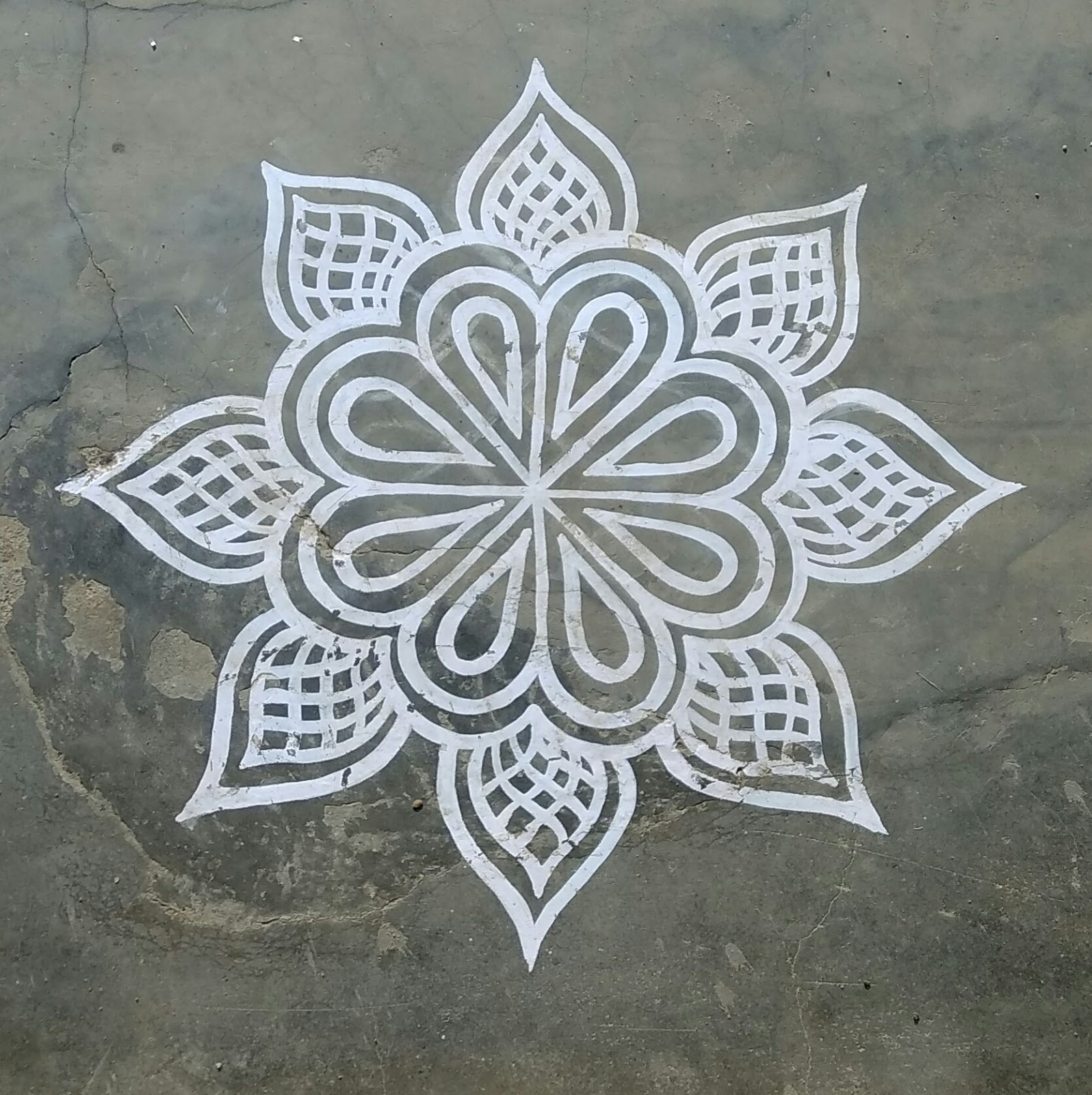 easy kolam for friday happy shappy