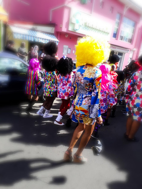 people in costumes during carnival