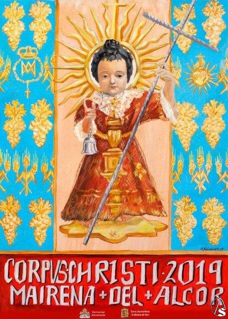 Presentado el Cartel del Corpus en Mairena del Alcor
