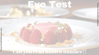 Eye Test: Hidden Number Picture Puzzle Answer