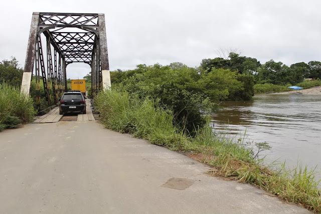 Pontes centenárias na BR-425 passam por manutenção em Nova Mamoré