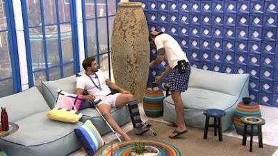 BBB21: Rodolffo avisa para Caio – 'Vou grilar com você'