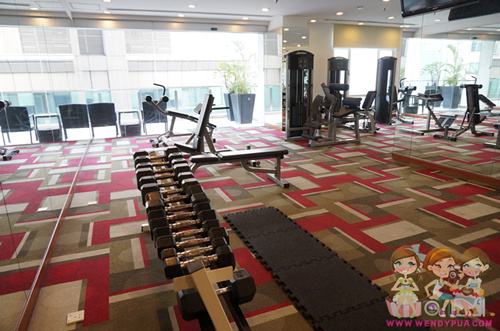 fraser place apartment gym