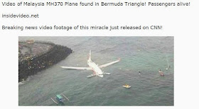 BEWARE of new Facebook Malware Claims, 'Malaysia Plane MH370 Has Been Spotted'