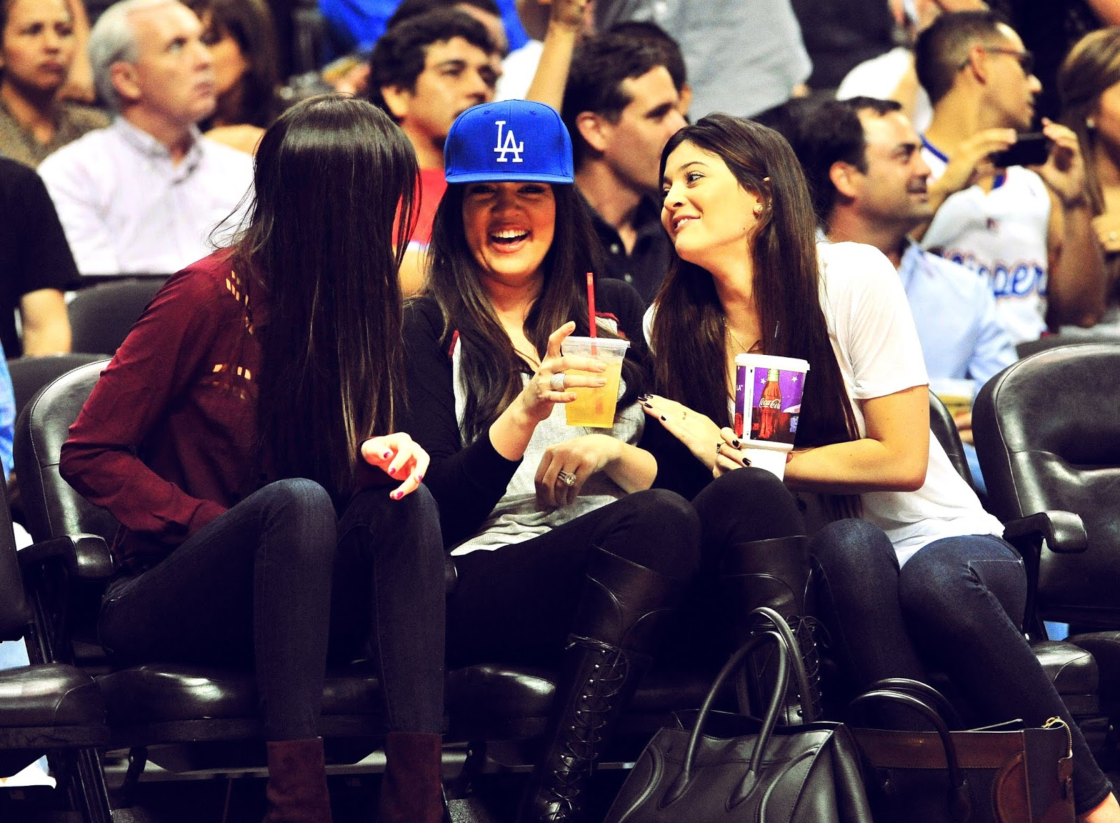 11 - Watching The Los Angeles Clippers Game on October 17, 2012
