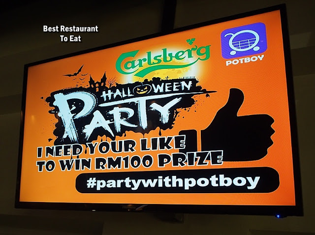 PotBoy Groceries Halloween Party @Carlsberg Brewery Shah Alam
