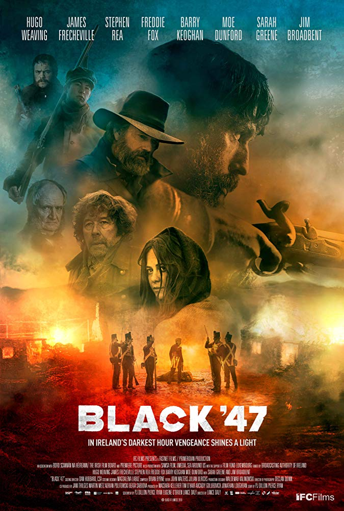 Black 47 2018 1080p Español Latino poster box cover