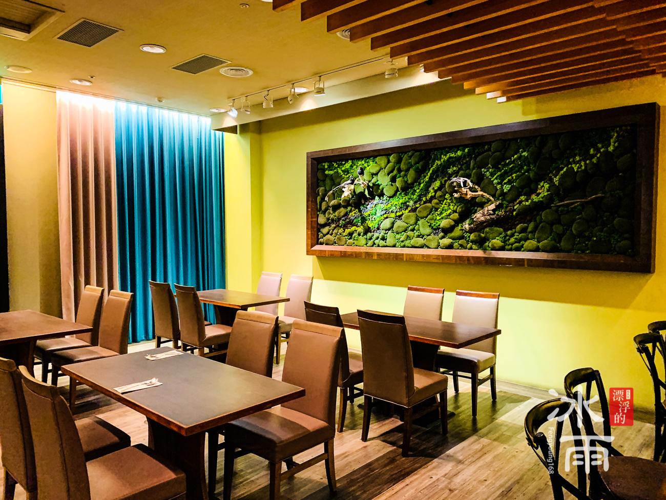 陽明山天籟渡假酒店|晚餐座位區