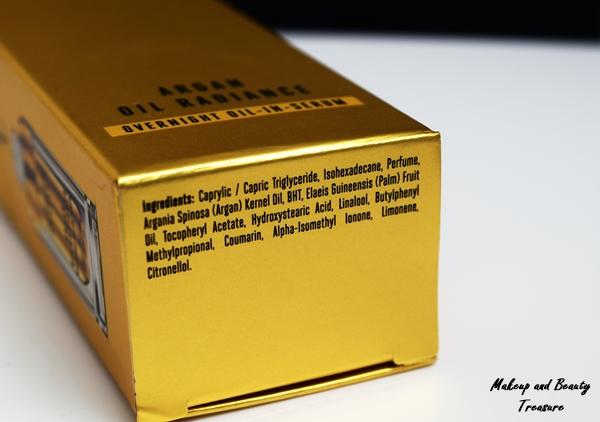 lakme argan oil serum ingredients