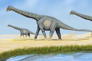 Dinozor Alamosaurus