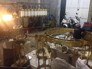 LAMPU TEMBAGA|LAMPU KUNINGAN PENGRAJIN TEMBAGA, PENGRAJIN KUNINGAN, TEMPAH TEMBAGA DAN KUNINGAN, BERKAH TEMBAGA,
