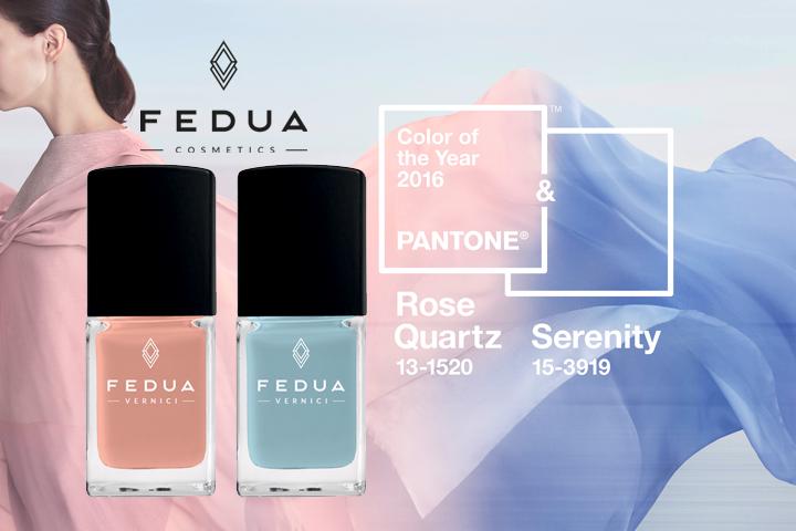 Fedua Cosmetics nei colori dell'anno Pantone 2016