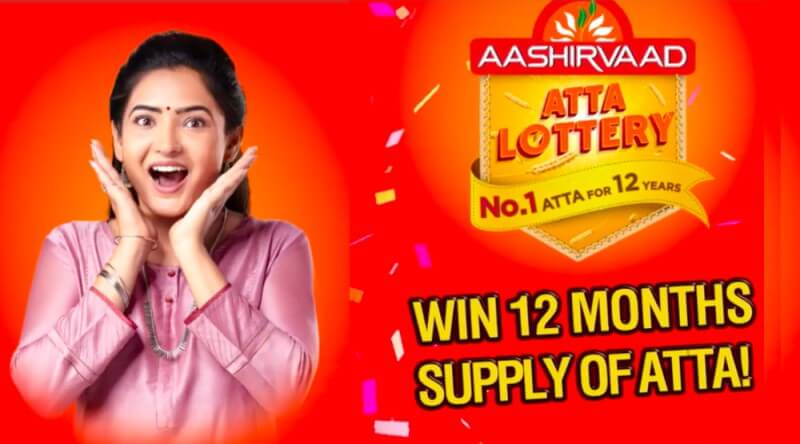[Freebies] Free 10Kg Aashirvaad Atta For 12 Months