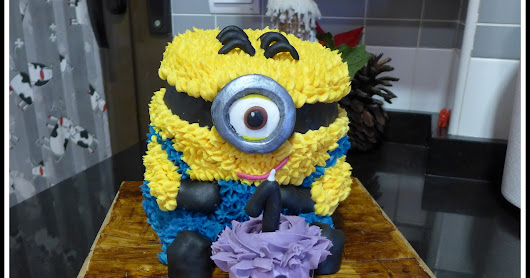 Serendipity by Cris: Tarta minion