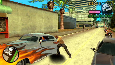 grand theft auto vice city game free  for psp