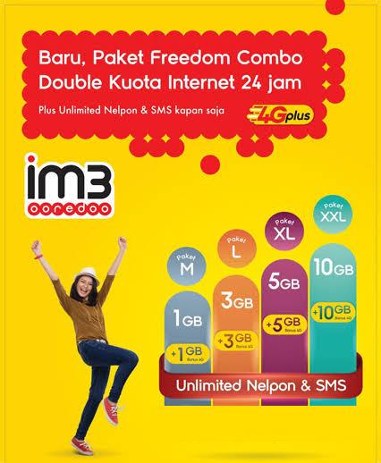 Paket Data Indosat freedom AEMITRA