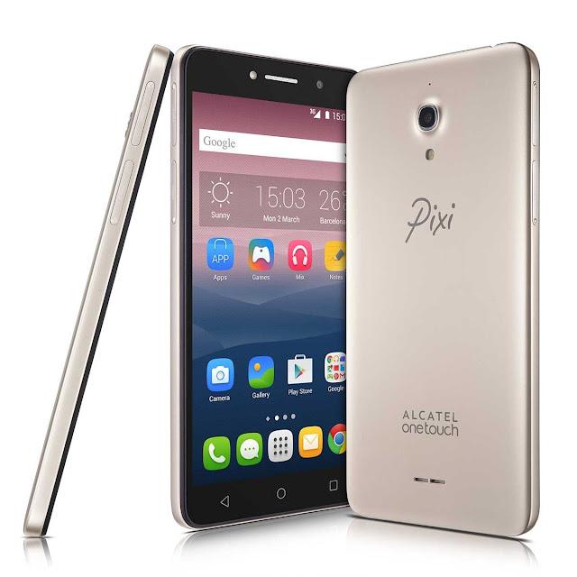 """Celular Smartphone Pixi 4 Dual Chip Tela 6"""" HD Alcatel DOURADO"""