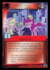 My Little Pony Changeling Mimics, Unreasonable Facsimiles Defenders of Equestria CCG Card
