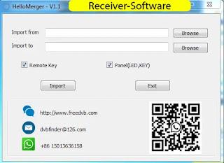 Gx6605s Hello Merger  V1.1 Tool Adjustment Remote, Panel Led Key