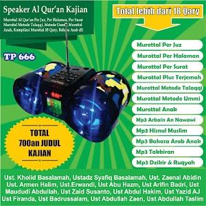 Speaker Al Qur'an Kajian Tp 666 16 Giga