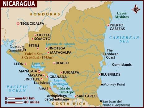 Resultado de imagen para granada nicaragua mapa