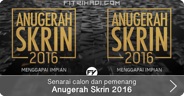 Senarai Calon Dan Pemenang Anugerah Skrin ASK 2016