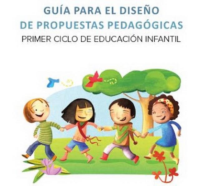 GUíA PARA EL DISEÑO DE PROPUESTAS PEDAGÓGICAS EN EL  PRIMER CICLO DE EDUCACIÓN INFANTIL