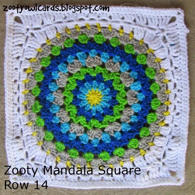 mandala in a square