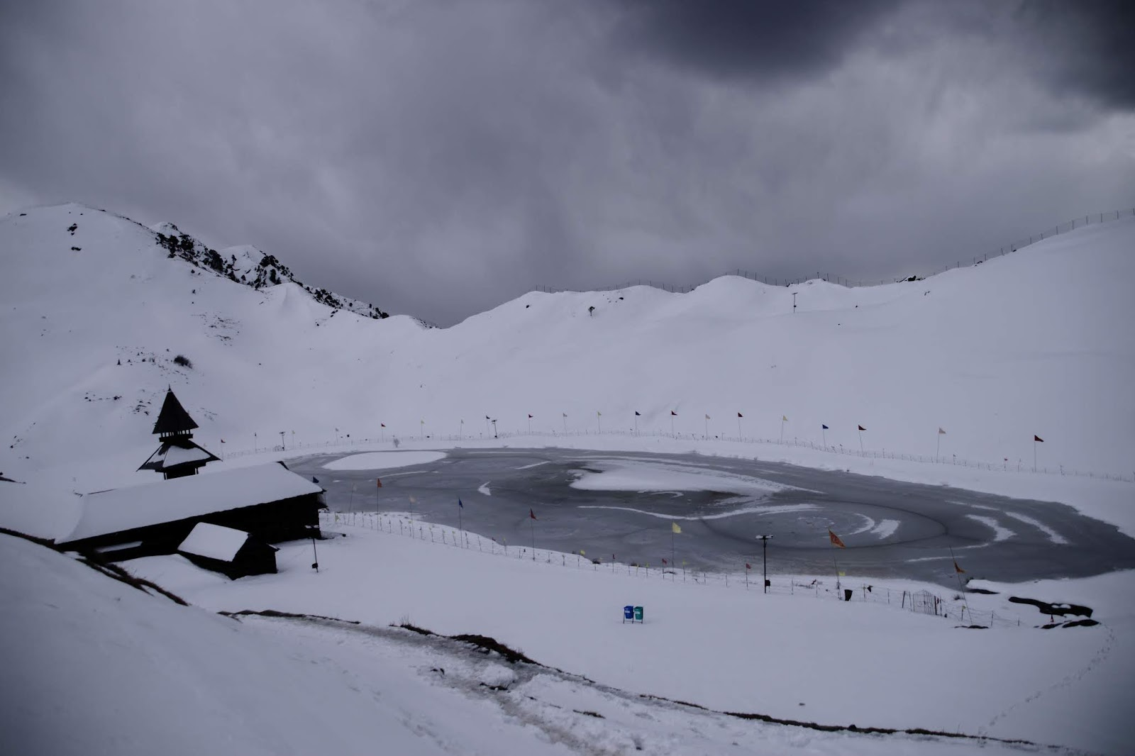 Parashar Lake View, Mandi.