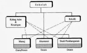 Bentuk organisasi fungsi dan lini