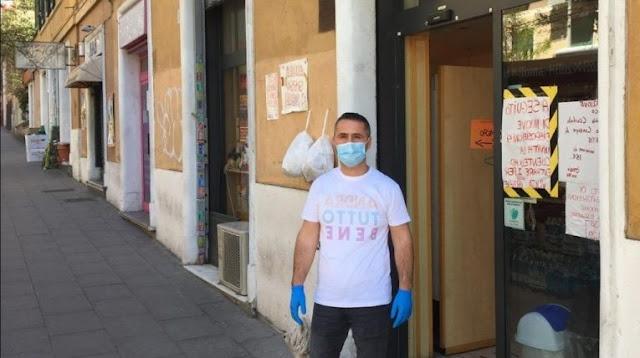 Il fornaio albanese a Roma: sono venuto affamato qui, ora voglio dare il pane alle persone bisognose