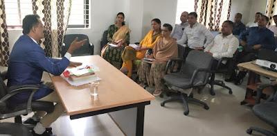 Senior Citizen Act Training At Mahila IG Office Jabalpur Madhya Pradesh